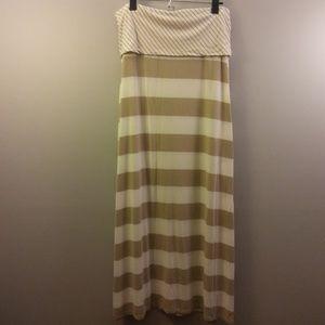 [Calvin Klein] Maxi Skirt (Size M)
